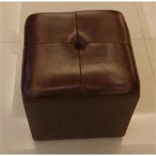 浪琴沙发--真皮皮墩