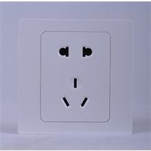 西蒙电气--L型五孔插座