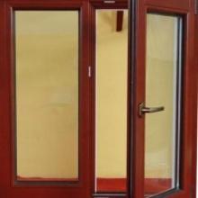 德高门窗铝包木窗