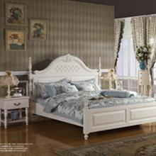 巴厘岛双人床加二个床头柜