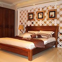 A家木色天香1.8米床架