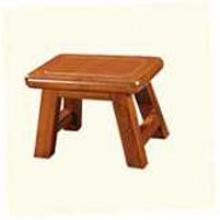 雀之林 金丝柚木小凳