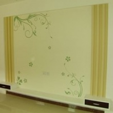 伯乐居硅藻泥10㎡背景墙