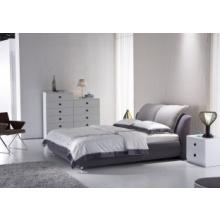 时尚布艺软床B-8052