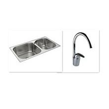 科勒卫浴厨房龙头+厨盆