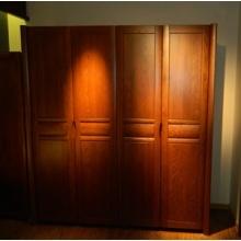 沃森家具四门衣柜 白橡木