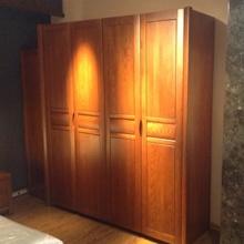 沃森家具 白橡木四门衣柜