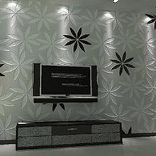 泥师傅硅藻泥10平米影视墙