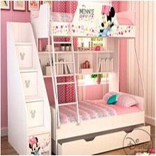 酷漫居儿童家具  儿童高低床