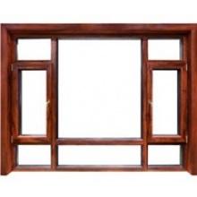 德高门窗铝包木隔音节能密闭窗