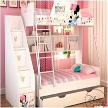 酷漫居儿童家具  高低床/个