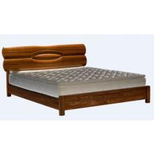 莫霞 榆木实木床+床垫/套