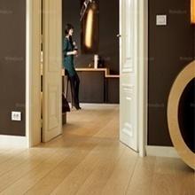 未来家地板 橡木本色实木复合